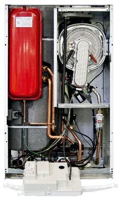 Котел газовый настенный конденсационный двухконтурный BAXI NUVOLA Duo-tec+ 24, с закрытой камерой сгорания, 24 кВт купить в интернет-магазине Азбука Сантехники