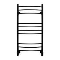 Полотенцесушитель электрический Energy ERGO 1000 × 500, черный матовый (RAL 9005) купить в интернет-магазине Азбука Сантехники