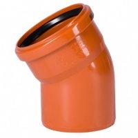 Отвод ПВХ Ostendorf Ø 160 мм × 30° для наружной канализации купить в интернет-магазине Азбука Сантехники