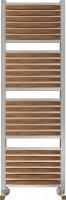 Полотенцесушитель водяной Benetto Legno Римини П28 530 × 1476, цвет - вишня купить в интернет-магазине Азбука Сантехники