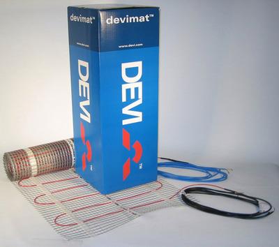 Теплый пол электрический Devi Devimat DSVF-150 — 0,5 × 1 м (0.5 м²) купить в интернет-магазине Азбука Сантехники