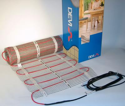 Теплый пол электрический Devi Devimat DTIR-150 — 0,5 × 10 м (5 м²) купить в интернет-магазине Азбука Сантехники
