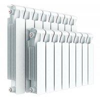 Радиатор биметаллический Rifar Monolit 500, 8 секций, боковое подключение