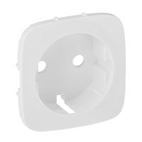 Legrand Valena Allure Белый Накладка розетки с/з купить в интернет-магазине Азбука Сантехники