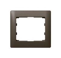 Legrand Galea Life Темная Бронза/Dark Bronze Рамка 1 пост купить в интернет-магазине Азбука Сантехники