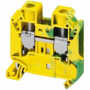 Schneider Electric Клеммник винтовой с заземлением сечением провода 16мм2 2 точки подключения купить в интернет-магазине Азбука Сантехники