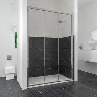 Душевая дверь RGW Classic CL-11, 1100 × 1850 мм, с прозрачным стеклом, профиль — хром купить в интернет-магазине Азбука Сантехники