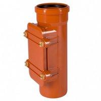 Ревизия ПВХ Ostendorf Ø 200 мм для наружной канализации купить в интернет-магазине Азбука Сантехники