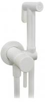 Смеситель Grohenberg GB001 встраиваемый, с гигиеническим душем, белый купить в интернет-магазине Азбука Сантехники