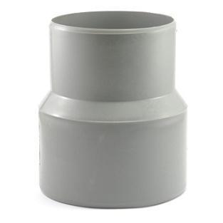 Переход на чугун (тапер) Политэк Ø 50/75 мм полипропиленовый серый купить в интернет-магазине Азбука Сантехники