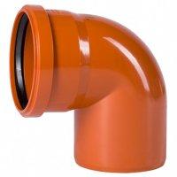 Отвод ПВХ Ostendorf Ø 160 мм × 87° для наружной канализации купить в интернет-магазине Азбука Сантехники