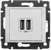 Legrand Valena Белый Зарядное устройство 2хUSB 1500mA купить в интернет-магазине Азбука Сантехники
