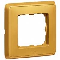 Legrand Cariva Матовое золото Рамка 1-ая купить в интернет-магазине Азбука Сантехники