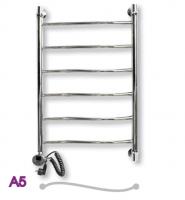 Полотенцесушитель электрический ЭРАТО А5 600 × 500 купить в интернет-магазине Азбука Сантехники