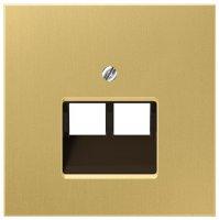 Jung Латунь Крышка для модульных разъемов купить в интернет-магазине Азбука Сантехники