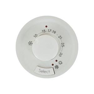 Legrand Celiane Белый Накладка термостата с датчиком для теплого пола купить в интернет-магазине Азбука Сантехники