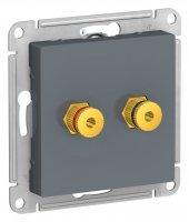 Schneider Electric AtlasDesign Грифель Аудиорозетка двухместная купить в интернет-магазине Азбука Сантехники