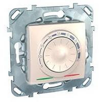 Schneider Electric Unica Бежевый Регулятор теплого пола с датчиком температуры купить в интернет-магазине Азбука Сантехники