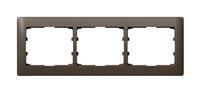 Legrand Galea Life Темная Бронза/Dark Bronze Рамка 3 поста горизонтальная купить в интернет-магазине Азбука Сантехники