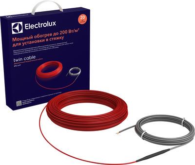 Теплый пол электрический Electrolux Twin Cable ETC 2-17-400 купить в интернет-магазине Азбука Сантехники