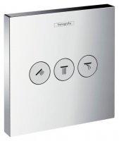 Переключатель потоков Hansgrohe ShowerSelect Trio/Quattro 15764000 для душа купить в интернет-магазине Азбука Сантехники