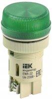 IEK Лампа ENR-22 сигнальная d22мм зеленый неон/240В цилиндр купить в интернет-магазине Азбука Сантехники