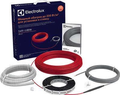 Теплый пол электрический Electrolux Twin Cable ETC 2-17-500 купить в интернет-магазине Азбука Сантехники