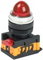 IEK Лампа AL-22 сигнальная d22мм красный неон/240В цилиндр купить в интернет-магазине Азбука Сантехники