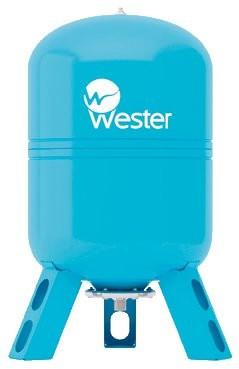 Расширительный бак Wester WAV 150 л для водоснабжения вертикальный купить в интернет-магазине Азбука Сантехники