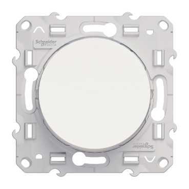 Schneider Electric Odace Белый Переключатель 1-клавишный 10A (схема 6) купить в интернет-магазине Азбука Сантехники
