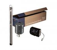Комплект с насосом Grundfos SQE 2-70 для поддержания постоянного давления, кабель — 60 м купить в интернет-магазине Азбука Сантехники