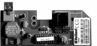 Модуль коммутационный для котлов без интерфейсов Vaillant VR 31 купить в интернет-магазине Азбука Сантехники