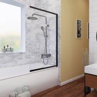 Стеклянная шторка на ванну WasserKRAFT Dill 61S02-80 купить в интернет-магазине Азбука Сантехники