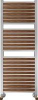 Полотенцесушитель водяной Benetto Legno Римини П25 530 × 1276, цвет - сапеле купить в интернет-магазине Азбука Сантехники