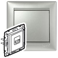 Legrand Valena Алюминий Розетка HDMI для аудио/видеоустройств купить в интернет-магазине Азбука Сантехники