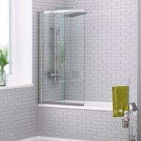 Стеклянная шторка на ванну WasserKRAFT Main 41S02-80 купить в интернет-магазине Азбука Сантехники
