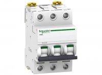 Schneider Electric Acti 9 iC60N Автомат 3P 2A (C) 6kA купить в интернет-магазине Азбука Сантехники