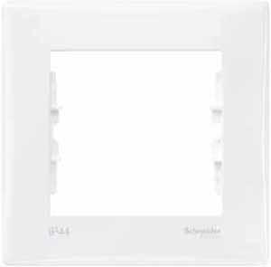 Schneider Electric Sedna Белый Рамка 1-постовая IP44 купить в интернет-магазине Азбука Сантехники