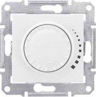Schneider Electric Sedna Белый Светорегулятор поворотный индуктивный 60-325 Вт купить в интернет-магазине Азбука Сантехники
