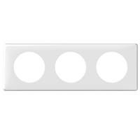 Legrand Celiane Белый Рамка 3 поста / 2+2+2 мод купить в интернет-магазине Азбука Сантехники