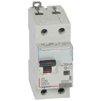 Legrand DX3 Дифавтомат 1P+N 20A (C) 6kA тип AС 30mA купить в интернет-магазине Азбука Сантехники