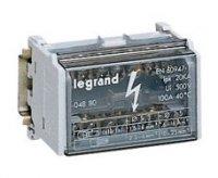 Legrand Кросс-модуль - 2П - 100 A - 7 подключений купить в интернет-магазине Азбука Сантехники