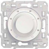 Schneider Electric Odace Белый Термостат электронный комнатный Обогрев/Охлаждение 8A купить в интернет-магазине Азбука Сантехники