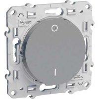 Schneider Electric Odace Алюминий Выключатель 2-полюсный 16A (схема 2) купить в интернет-магазине Азбука Сантехники
