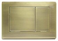 Кнопка смыва TECE Planus 9240366 состаренная латунь купить в интернет-магазине Азбука Сантехники
