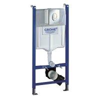 Инсталляция для унитаза подвесного GROHE Rapid SL 38 721 001 — 3 в 1 с кнопкой смыва