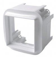 Legrand Quteo Белый Адаптер для механизма Mosaic 45х45 IP20 купить в интернет-магазине Азбука Сантехники