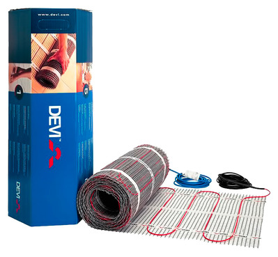 Теплый пол электрический Devi Devimat DTIF-150 — 0,5 × 7 м с гофротрубкой (3.5 м²) купить в интернет-магазине Азбука Сантехники