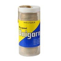 Лён сантехнический UNIPAK UNIGARN, шпуля 40 г (в пластиковой упаковке) купить в интернет-магазине Азбука Сантехники