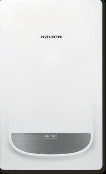 Котел газовый настенный двухконтурный NAVIEN DELUXE S 20K COAXIAL, закрытая камера, коаксиальное дымоудаление купить в интернет-магазине Азбука Сантехники